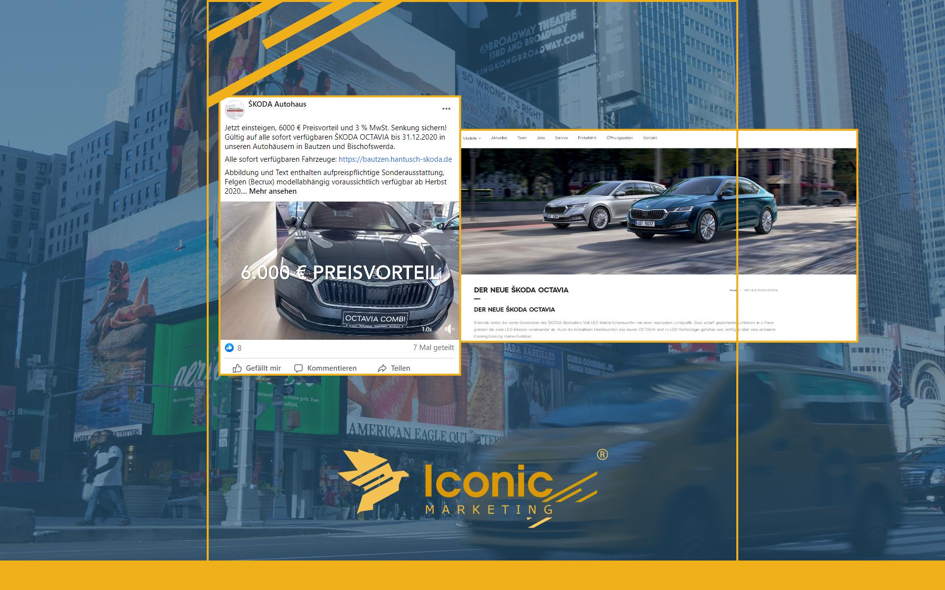 Iconic Marketing Prime kümmert sich um Social Media Kanäle