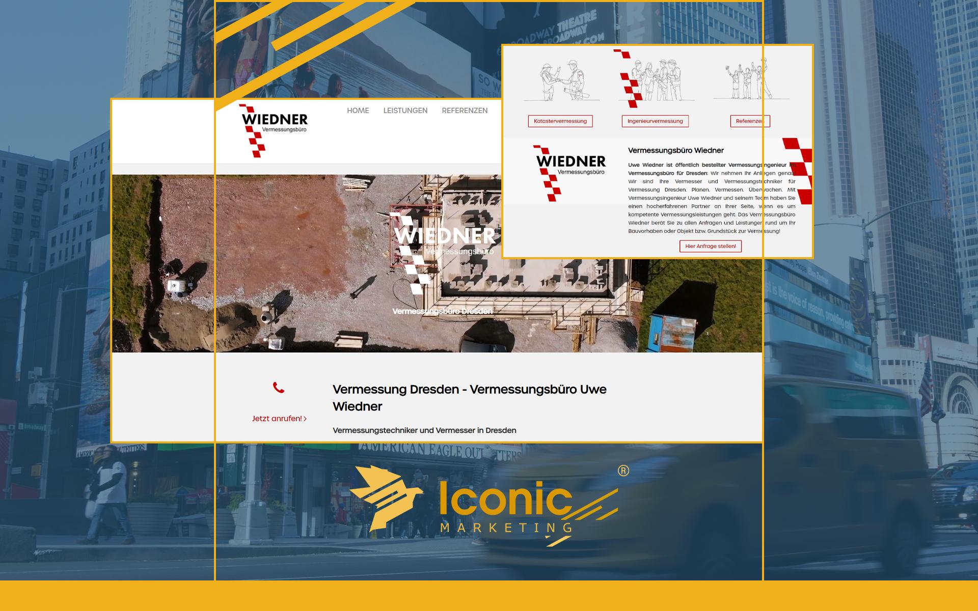 Iconic Marketing Prime betreut und pflegt Website