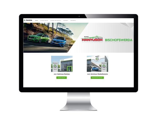 Websites für Autohäuser