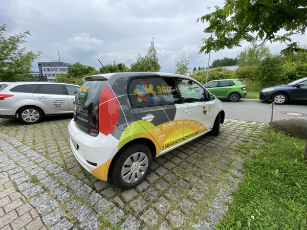 Fahrzeug Dresden Beschriftung